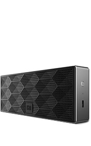 Mini Square Box Speaker - Black